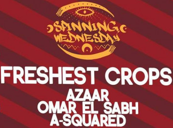 Freshest Crops ft. Omar El Sab, Azaar & A-Squared at Cairo Jazz Club
