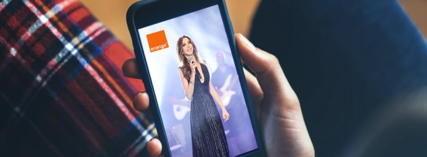 200K People Tuned in to Orange Egypt's Exclusive Stream of Nancy Ajram's Cyprus Concert!