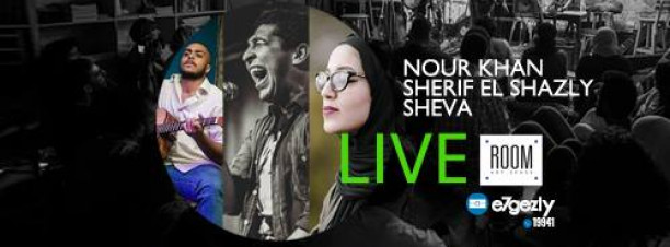 Nour Khan ft. Sherif El Shazly and Sheva at ROOM Art Space