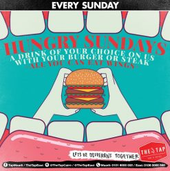 Hungry Sundays at The Tap East