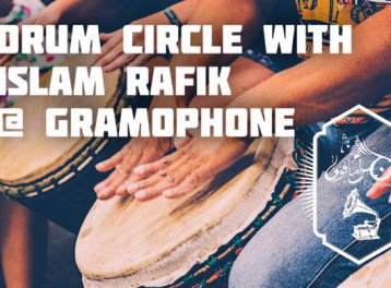 Drum Circle at Gramophone
