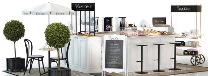 Makeup & Macaroons: The Lancôme Cafe Comes to Egypt