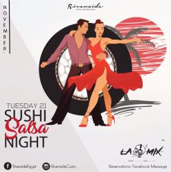 Sushi & Salsa Night at Riverside