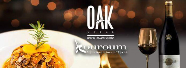 Wine Dinner at OAK Grill