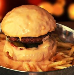 Daddy's Burger: Cheese, Cheese & More Cheese at New Cairo Restaurant