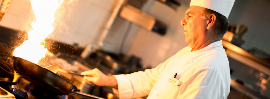 OPIA, Egyptian Tastes & the Greek Army: Ramses Hilton's Executive Chef Dimitrios Koutsonikolas