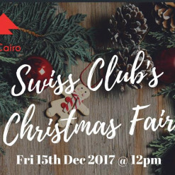 Christmas Fair at Swiss Club Cairo