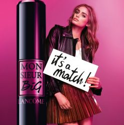 Meet Monsieur Big: Lancôme Cafe Set to Launch Monsieur Big Mascara with Huge Event