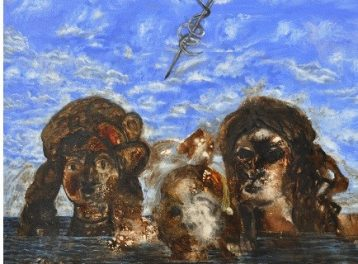 'Swimming with the Remains of a Time to Come' Exhibition at Mashrabia Gallery