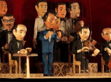 عبد الحليم حافظ على مسرح الساقية للعرائس
