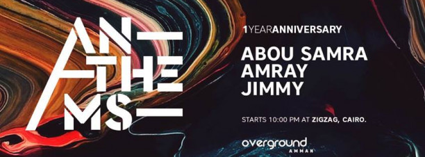 Anthems: One Year Anniversary at Zigzag