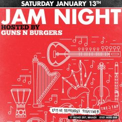 Jam Night with Guns N' Burgers at The Tap Maadi