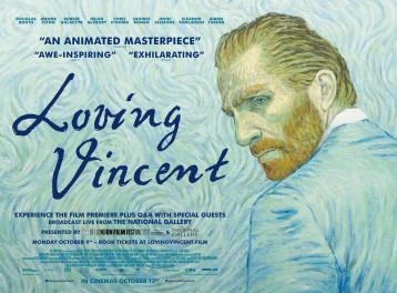 عرض Loving Vincent في علبة ألوان