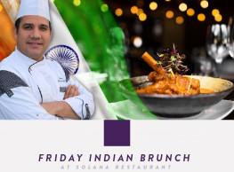 Friday Indian Brunch at Solana