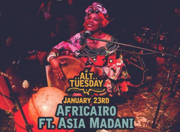 Africairo ft. Asia at Cairo Jazz Club