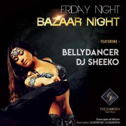 Bazaar Night at The Garden Nile Front