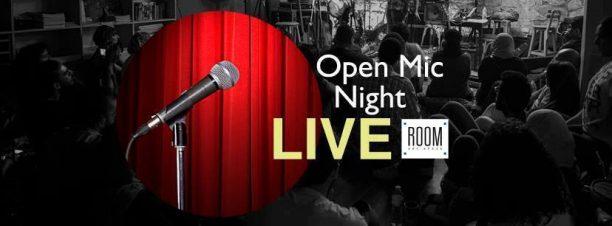 ليلة المايك المفتوح في رووم