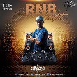 RNB Night Ft. Feedo at Gŭ Bar