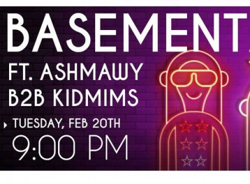 Ashmawy and kidmims; at Basement Pub