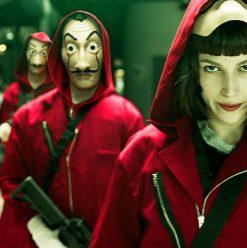 مسلسل La Casa De Papel: دراما إسبانية تضرب بيد من حديد