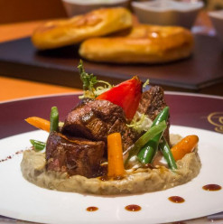 Turkish Buffet at Nile Kempinski's Osmanly Restaurant