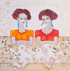 This Egyptian Artist's Paintings Are the Perfect Way to Celebrate Mother's Day
