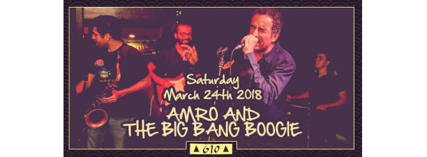 Amro & The Big Bang Boogie @ Cairo Jazz Club 610
