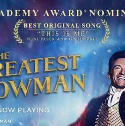 عرض The Greatest Showman في علبة ألوان