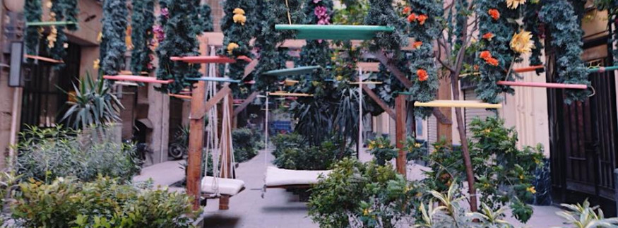 Downtown Cairo Just Got a Spring Themed Makeover