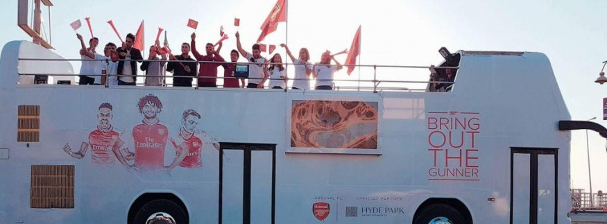 Hyde Park Developments Is Giving Arsenal Fans a Chance of a Lifetime!
