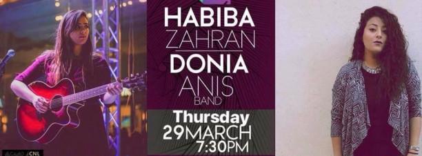 Habiba Zahran & Donia Anis at 3elbt Alwan