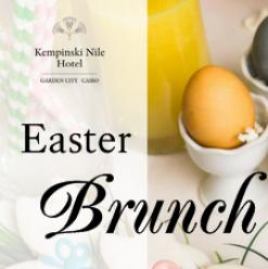 Easter Brunch at Kempinski Nile Cairo