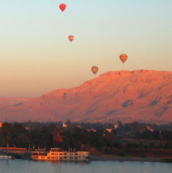 Taking a Hot Air Balloon Ride Across Luxor Is on Our Easter Break Bucket List