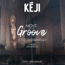 Move to The Groove ft. DJ Bassem Filex at Keji Egypt