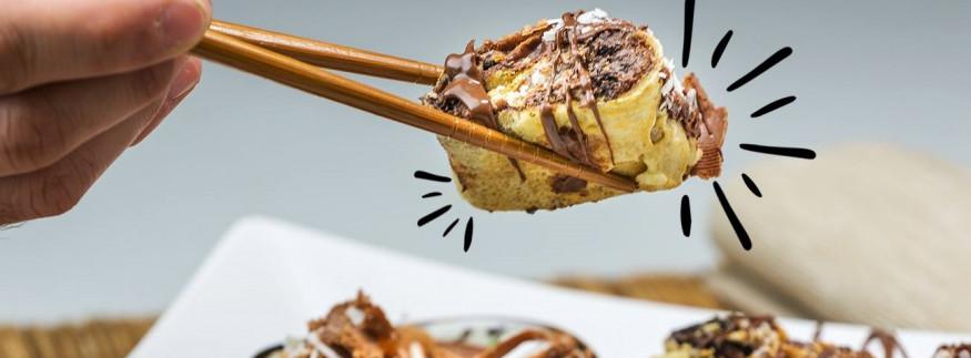 Chocoshawerma: Cairo's Newest Dessert Trend