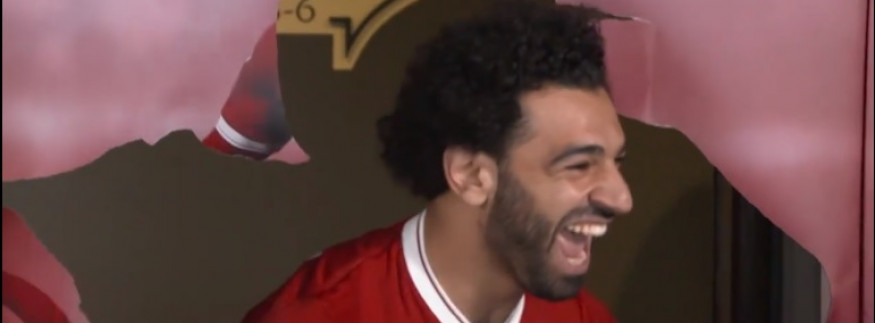 This Viral Video of Mo Salah Surprising His Youngest Fans Is the Cutest Thing on Facebook