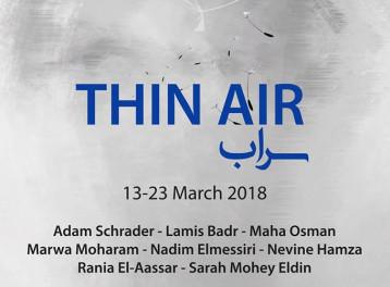 'Thin Air' Exhibition at SOMA Art
