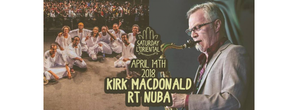 RT Nuba / Kirk Macdonald FT. Fusion Jam @ Cairo Jazz Club