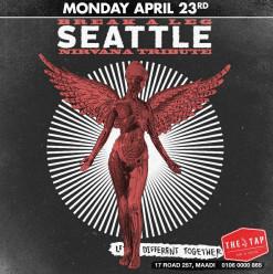 Nirvana Tribute Seattle @ The Tap Maadi