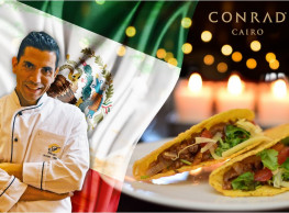 Friday Mexican Brunch @ Solana Restaurant, Conrad Cairo