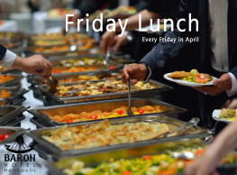Friday Lunch at the Baron Hotel Heliopolis