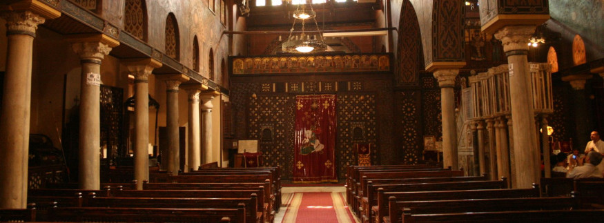 Security Perimeters Established Around Egyptian Churches for Palm Sunday