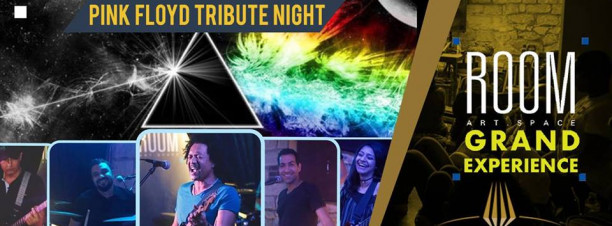 Pink Floyd Tribute Night with Paranoid Eyes at Room Grand Experience