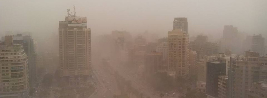 Viral Video Shows Massive Sandstorm Hitting Egypt, but Is It Credible?