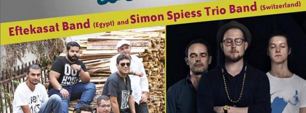 Eftekasat & Simon Spiess Trio at El Sawy Culture Wheel