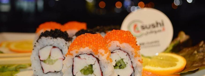L Sushi: New Food Truck in Maadi Promises Sushi on a Budget