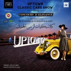 Emaar Misr's Uptown Cairo Classic Car Show