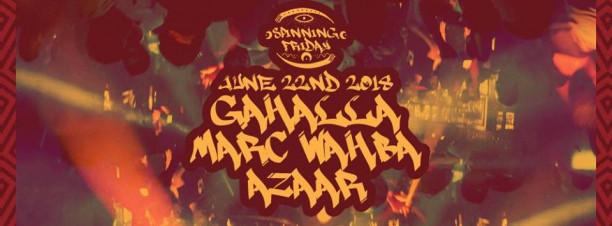 Gahallah / Marc Wahba / Azaar @ CJC 610
