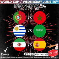 World Cup Matches @The Tap Maadi