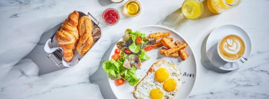 Il Loft: Breakfast Menu at New Cairo Branch